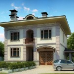 Front Elevation Europe Design House Home