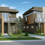 Front Elevation Europe Modern House Design American