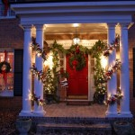 Front Porch Christmas Decorations Decorating For