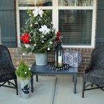 Front Porch Christmas Time Ideas