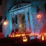 Front Yard Decorations For Halloween Picture