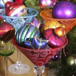 Fruits Easily Become Elegant Centerpiece For The Christmas Table