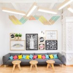 Fun Colorful Lounge Room Home Styling Decor