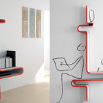 Funky Shelves From Votes
