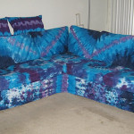 Furniture But Never Thought About Tie Dying Couch Slipcover