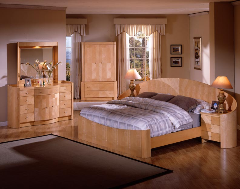 Furniture Design And Decor Ideas Unfinished Wood Bedroom