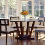Furniture Modern Latest Round Dining Table Designs