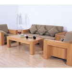 Furniture Modern Latest Solid Wood Sofa Design