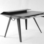 Futuristic Desk Inspired Stealth Bombers Digsdigs