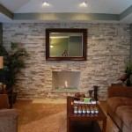 Gas Fireplace Stone Ideas For Cozy Nature