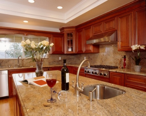 Gathering Kitchen The Most Beautiful Granite Countertops