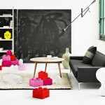Giant Lego Brick Storage Boxes Cute Furniture Never Own