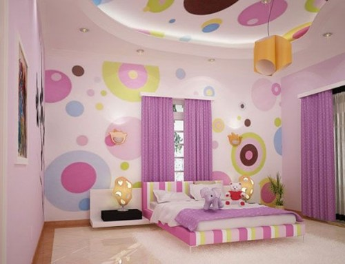Girls Bedroom And Living Room Design Ideas For Teenage