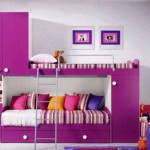 Girls Bedroom Design Ideas Modern Purple