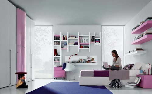 Girls Teenage Bedroom Youthfully Ideas