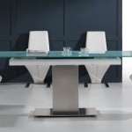 Glass And Steel Dining Table China