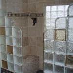 Glass Block Shower Contemporary Showers Detroit Innovate