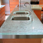 Glass Countertop For Kitchens