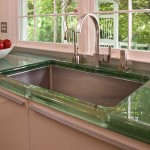 Glass Countertops For Modern Kitchens