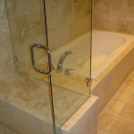 Glass Enclosed Shower And Jacuzzi Tub Flickr Sharing