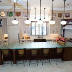 Glass Kitchen Countertops Design Unique And Eye Catching Look