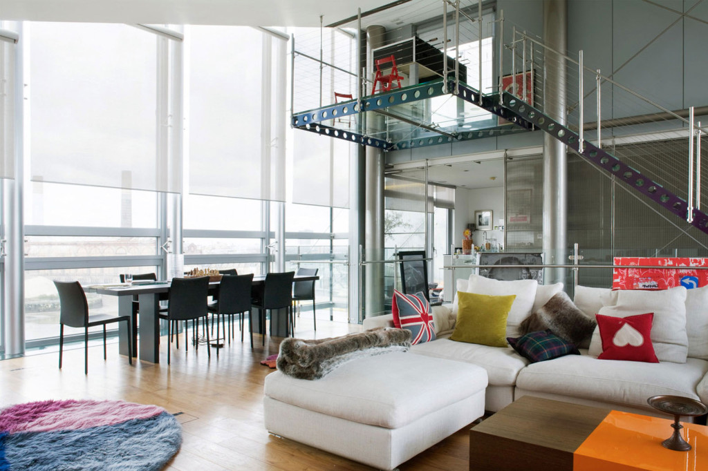 Glass Penthouse London The Thames Idesignarch Interior