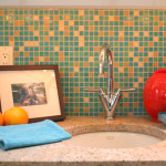 Glass Tile Kitchen Gallery Zen Philadelphia Blend