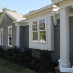 Good Gray Color For House Exterior Around The