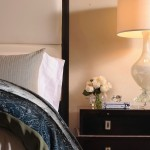 Gorgeous Bedside Table And Lamp Decorating Future Home