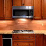 Gorgeous Copper Color Large Subway Porcelain Backsplash Tile