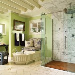 Gorgeous Luxury Bath Room Home Interior Decorations Stylish
