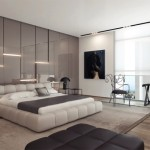 Gray Gloss Panels Supply Soothing Backdrop This Rest Space And