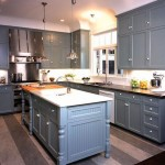 Gray Kitchen Cabinets Contemporary Gast Architects Bnf