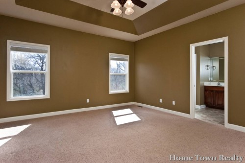 Great Brown White Spacious Master Bedroom Paint Colors Design