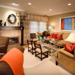 Great Room Furniture Layout Fireplace