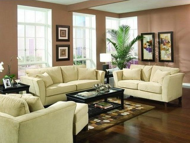 Great Room Furniture Layout Wall Brown