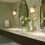 Green Color Schemes Are The Rise Bathroom Designs