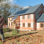 Green Factory Front His Firm First New Build Eco Home