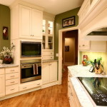 Green Kitchen Wood Floors Efficient And Eco Friendly