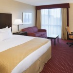 Guest Room King Bed And New Doubletree Hilton Bedding