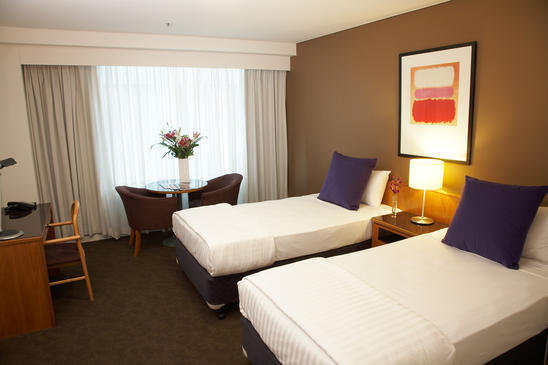 Guest Room Twin Beds Hotel Types Vibe North Sydney