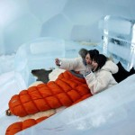 Guests Snap Themselves The Bed Ice Hotel Reuters
