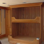 Hand Crafted Mahogany Bunk Beds The Woodsmith Llc Custommade
