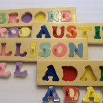 Hand Crafted Personalized Wooden Name Puzzles Via Etsy