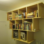 Hand Crafted Wall Hanging Bookcase Shelves Wooden Nice