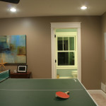 Hangs Upstairs Our Game Room You Can See Below