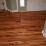 Hardwood Floor Sunroom Laminate Install Before