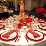 Have Our Annual Ladies Banquet Different Women Decorate Tables