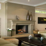 Hearth Ideas Fireplace Sofa And Wood Tale Design
