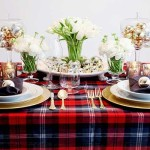 Here Are Our Impressive Christmas Table Decoration Inspiration For